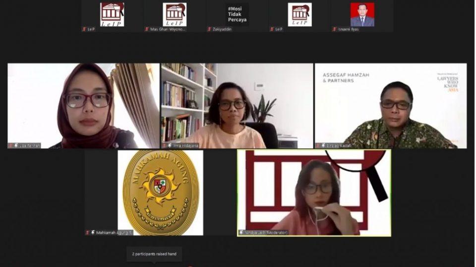 Webinar – Komitmen MA Penanganan Covid19 di Pengadilan